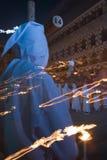 Nazareno fra le fiamme Fotografia Stock