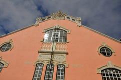 Nazarestad, Portugal Royalty-vrije Stock Fotografie