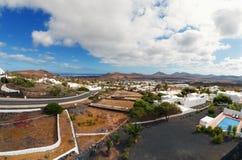 Nazaret镇,兰萨罗特岛海岛,西班牙 库存照片