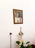 NAZARET, ISRAEL 11 July 2015: Reliquary and the image of Blessed Royalty Free Stock Image