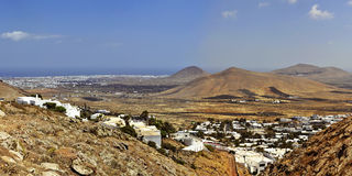 Nazaret on Lanzarote Royalty Free Stock Photography