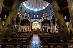 Nazareth - basílica do aviso imagens de stock royalty free