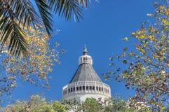 Nazareth Basilica der Ankündigung lizenzfreies stockfoto