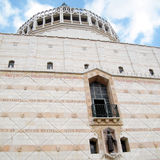 Nazareth Basilica facade of Mary 2010 Stock Images