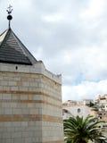 Nazareth Basilica landscape 2010 Royalty Free Stock Images
