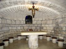 Nazareth chapel Royalty Free Stock Images