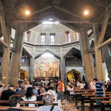 Nazareth Church of the Annunciation 2010 Stock Photo