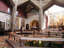 Nazareth Church of the Annunciation The upper tier 2010 Royalty Free Stock Image