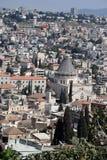 Nazareth cityscape Israel Arkivfoton