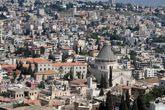 Nazareth Israël Stock Afbeelding