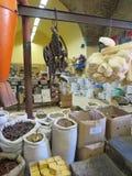 Nazareth, Israël, le 8 juillet 2015 : Boutique coloniale intérieure Elbabou Image libre de droits