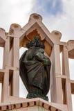NAZARETH ISRAEL - CIRCA NOVEMBER 2011: Staty av Jesus Royaltyfria Bilder
