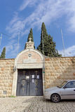 Nazareth, Israel. - February 17.2017. Greek Orthodox Church of the First Miracle. Stock Photography