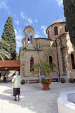 Nazareth, Israel. - February 17.2017. Greek Orthodox Church of the First Miracle. Stock Image