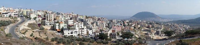 Nazareth och Tavor montering arkivfoto