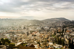 Nazareth panorama, Israel Royalty Free Stock Images