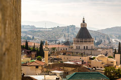 Nazareth panorama, Israel Stock Image