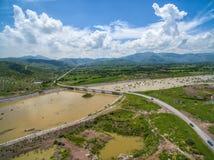 Nazas rzeka zdjęcie stock