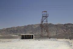 Nazca线路和秘鲁沙漠 免版税库存图片
