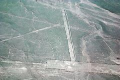 Nazca allinea il Perù Immagini Stock Libere da Diritti