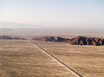 Nazca desert Stock Photo