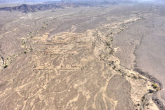 Nazca desert in Peru. South America royalty free stock image