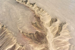 Nazca desert in Peru Stock Photos