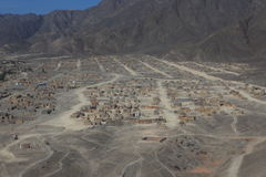 The Nazca Desert stock photography