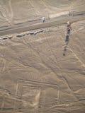Nazca Lines. In the Peruvian Desert Stock Photos
