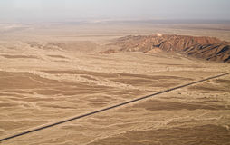 Nazca Lines. In the Peruvian Desert Royalty Free Stock Photography