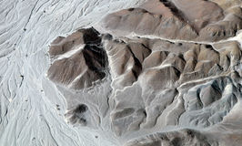 Nazca Lines - Astronaut - Aerial View Stock Images