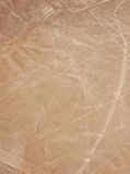 Nazca lines - bird Royalty Free Stock Photography