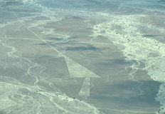 Nazca Lines: The Double Trapezoid Stock Photos