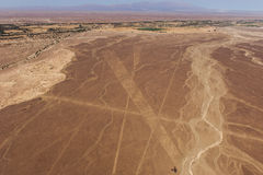 Nazca Lines and geoglyphs Royalty Free Stock Photo