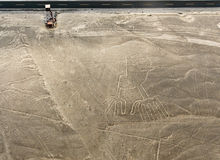 Nazca Lines Hands Royalty Free Stock Photography