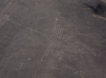 Nazca Lines in Peru Royalty Free Stock Photos
