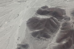 The Nazca Lines in Peru Stock Photo