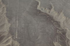 The Nazca Lines in Peru Royalty Free Stock Photo