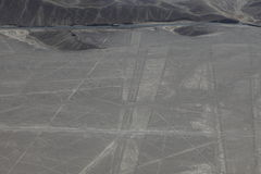 The Nazca Lines in Peru stock images