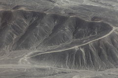 The Nazca Lines in Peru Stock Image
