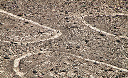 Nazca Lines, Southern Peru Royalty Free Stock Photo