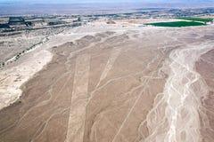 Nazca Lines Trapezium Royalty Free Stock Photo