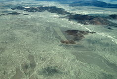 Nazca Lines: The Trident Stock Photography