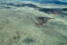 Nazca linie: Trident fotografia stock
