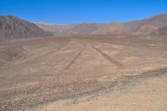 Nazca Zeilen Lizenzfreies Stockbild