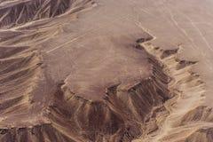 Nazcalijnen en geoglyphs stock foto