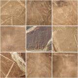 Nazcalijnen, Peru - Unesco-Erfenis Royalty-vrije Stock Foto's