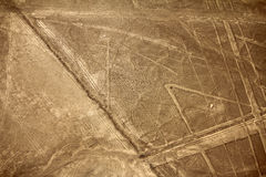 Nazcalijnen - Spin stock foto's