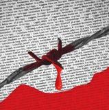 nazi Польша концентрации лагеря birkenau Стоковое Изображение