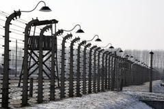 nazi Польша концентрации лагеря birkenau стоковая фотография rf